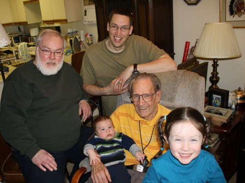 Four generations of my family