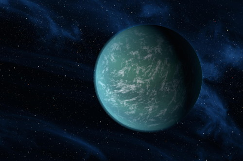 Kepler-22b (NASA/Ames/JPL-Caltech)