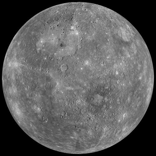 Mercury Globe: 0�N, 180�E