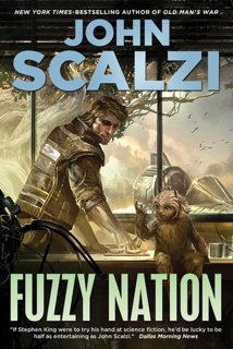 Book cover: Fuzzy Nation