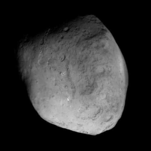 Comet Tempel 1 (9P/Tempel) from the Stardust probe, Feb. 14 2011