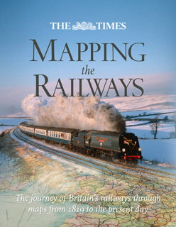 Book cover: The Times Mapping the Railways