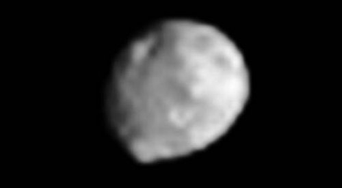 Vesta from the Dawn probe (June 14, 2011)