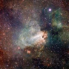 VST: Omega Nebula, M17 (ESO)