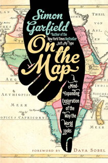 Book cover: On the Map (U.S. edition)