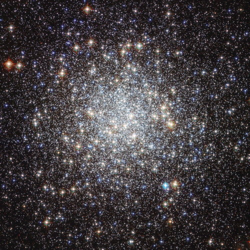 Messier 9 globular cluster (Hubble image)