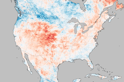 EO: Heat Wave Fuels Wildfires in the Rockies