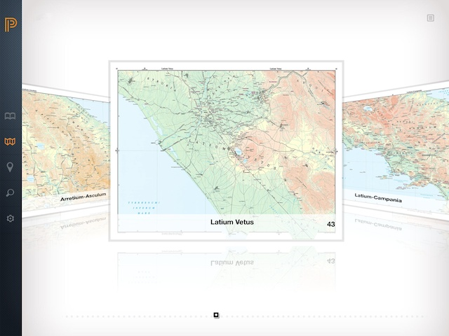 Barrington Atlas of the Greek and Roman World (screenshot)