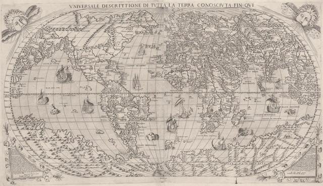 Universale Descrittione Di Tutta la Terra Consciuta Fin Oui (Forliani)