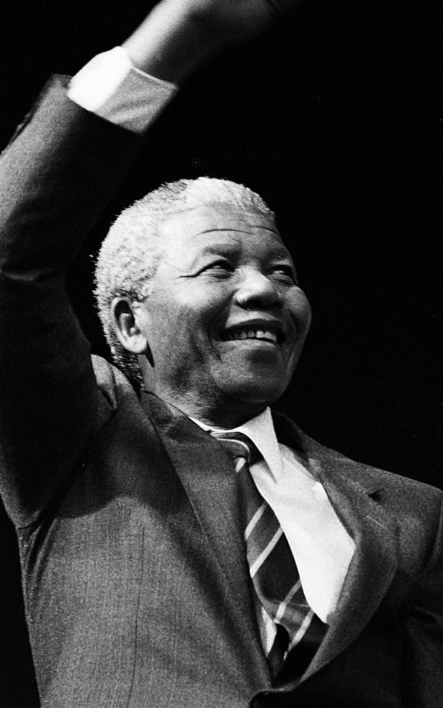 Nelson Mandela in Montréal, June 1990