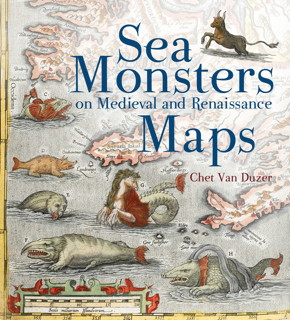 Book cover: Sea Monsters on Medieval and Renaissance Maps