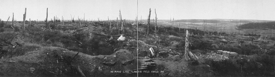 No Mans Land, Flanders Field, France, 1919 (W. L. King)