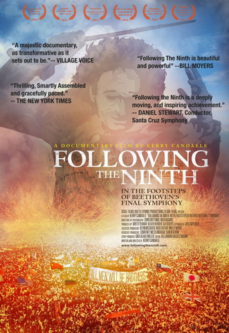 Following the Ninth (DVD cover)