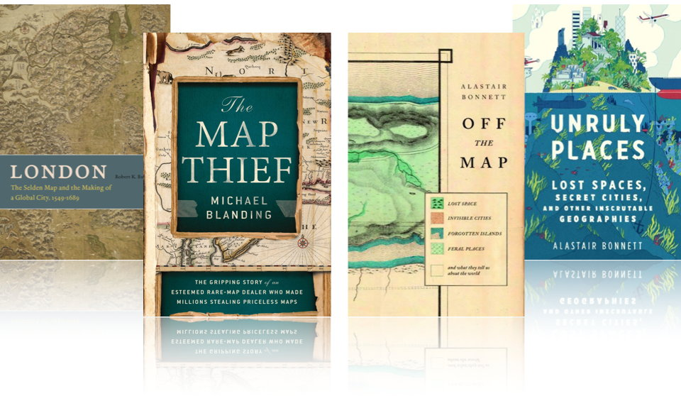 Map Books of 2014: Books About Maps