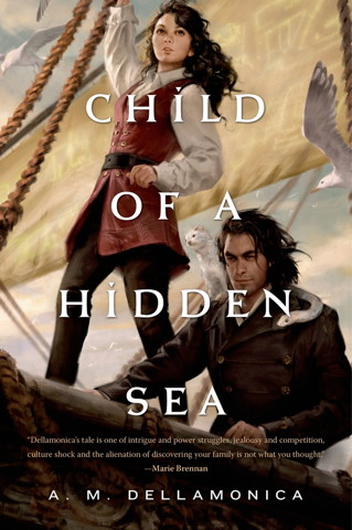 Book cover: Child of a Hidden Sea