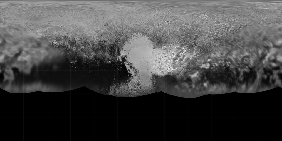 Global Map of Pluto