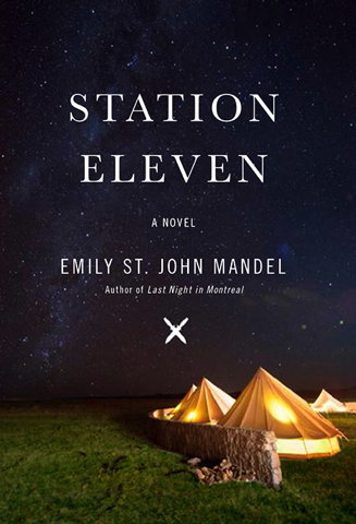 Book cover: Station Eleven