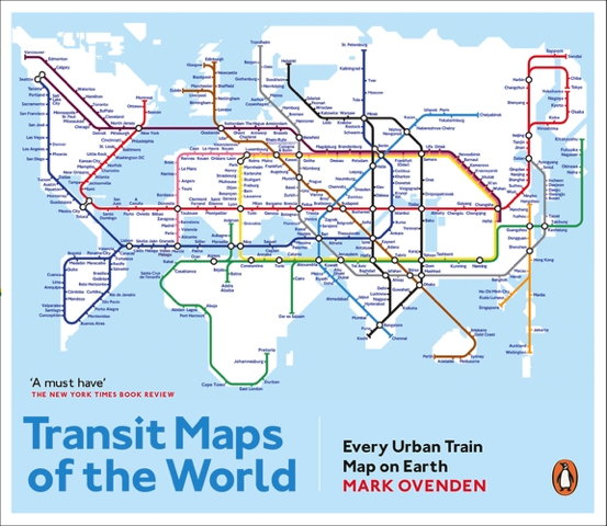Book cover: Transit Maps of the World