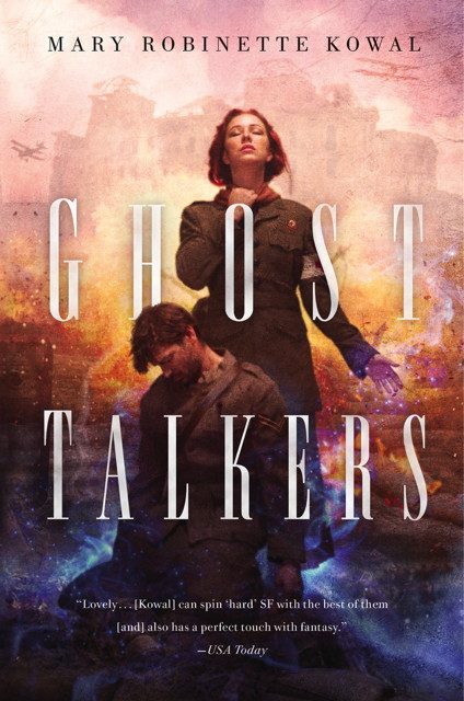 Book cover: Ghost Talkers