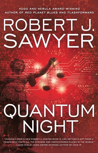 Book cover: Quantum Night