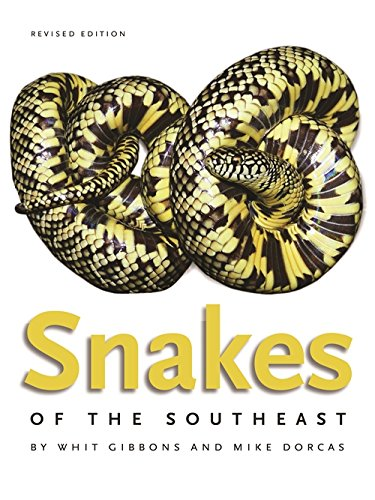 Book cover: Snakes of the Southeast