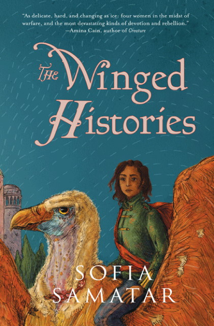 Book cover: The Winged Histories