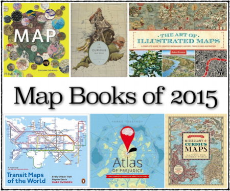 Gift Guide: Map Books of 2015